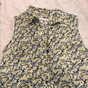Summer Equipment floral shirt dress xs